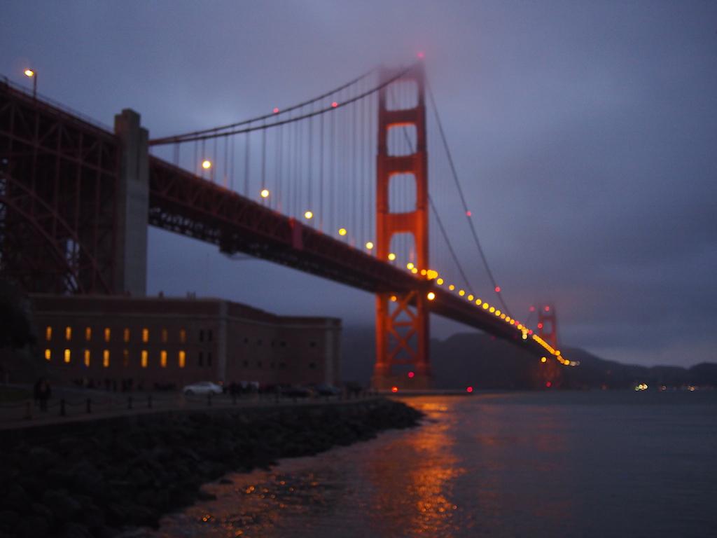 Golden Gate Bridge © Sasha Zvereva