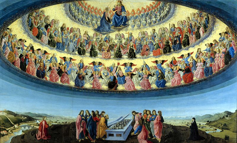 Francesco Botticini, The assumption of the Virgin |© Unknown/WikiCommons