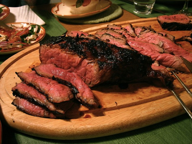 Steak dish| © Jeremy Keith/Wikicommons