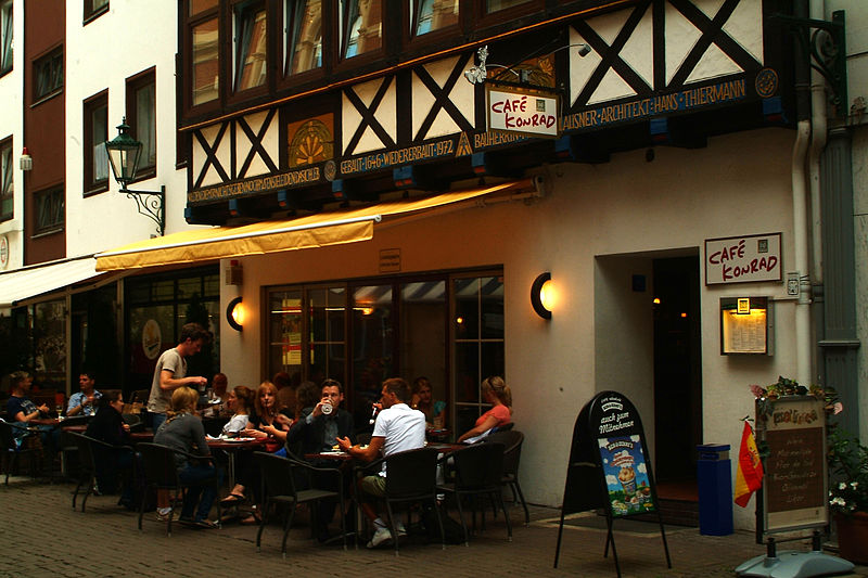 Café Konrad © Bernd Schwabe