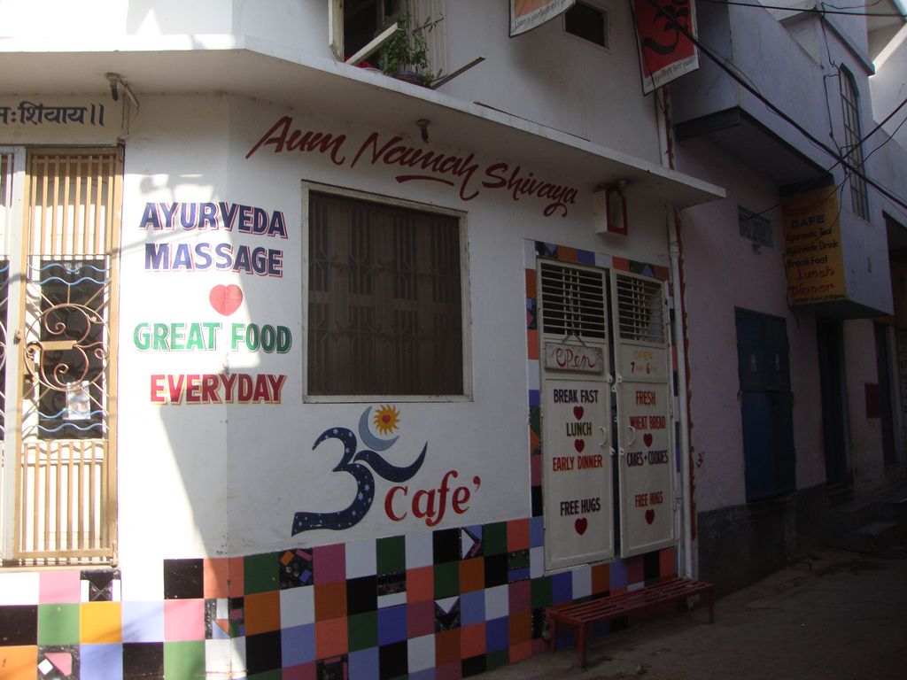 The best restaurants in varanasi india for Aum indian cuisine