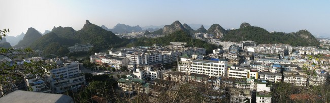 Guilin city panorama | © Caitriana Nicholson/Flickr