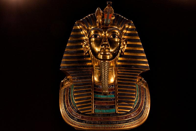 Mask of Tutankhamun   © Hans Splinter/Flickr