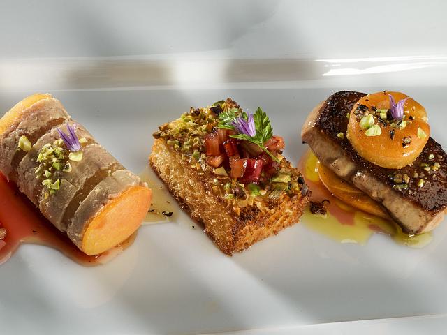 Foie Gras three ways © Dale Cruse/Flickr