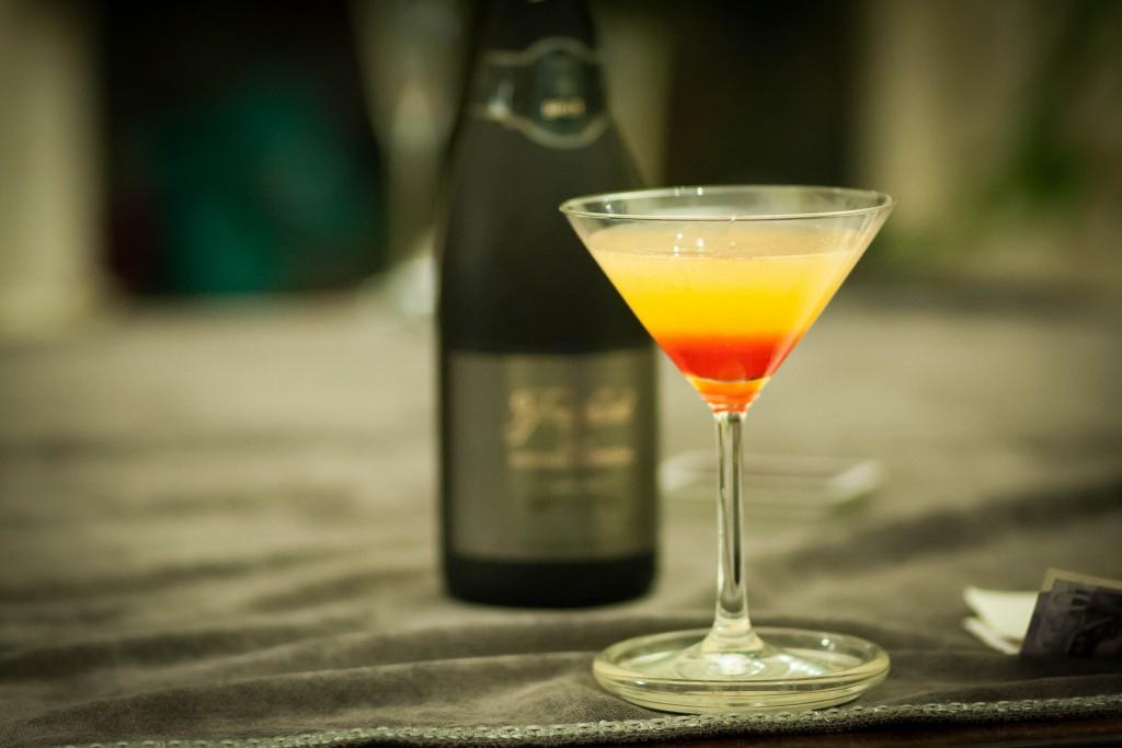 Golden Dawn Cocktail ©Adrian Scottow