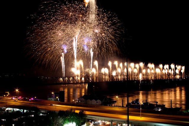 Louisville fireworks I ©LuAnn Snawder Photography/Flickr