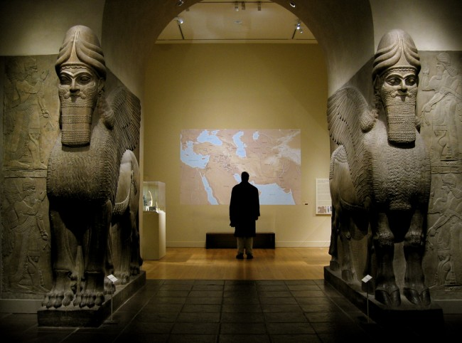 Mesopotamia, Iraq — Assyrian Gateway at The Met | © Xuan Che/Flickr