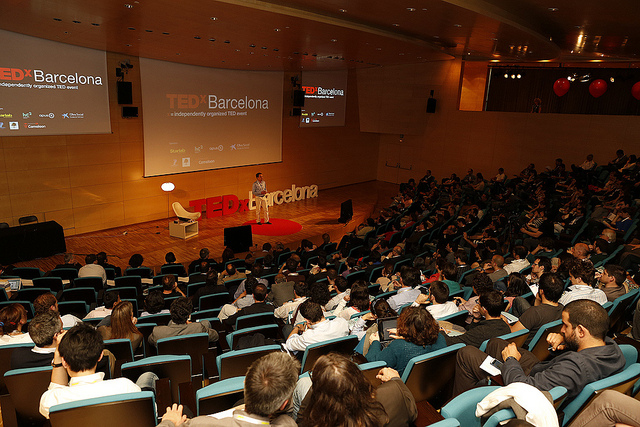 TEDxBarcelona | Courtesy of José Cruset