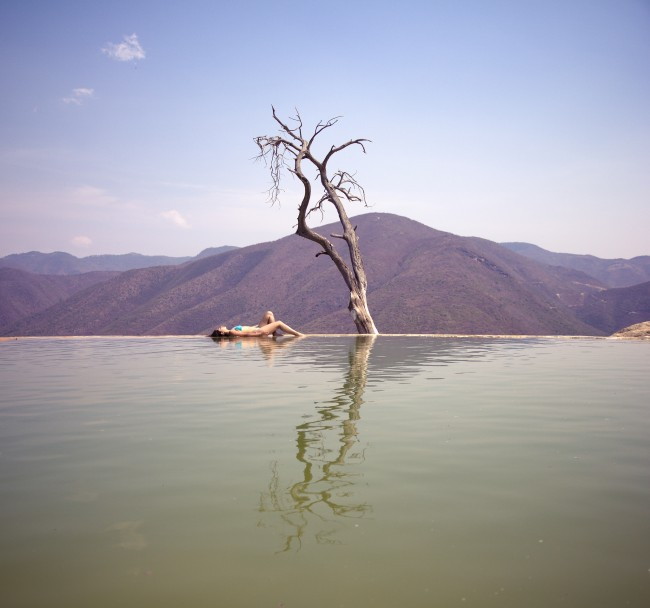 Hierve El Agua, Oaxaca © Carlos Adampol Galindo/Flickr
