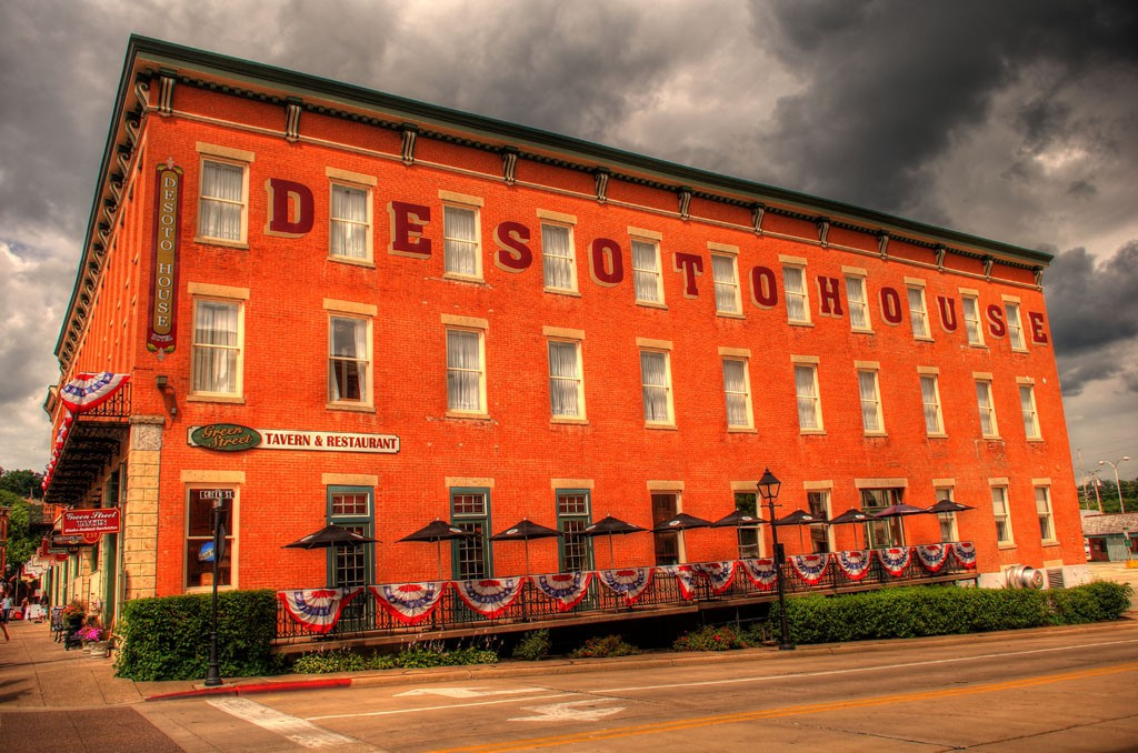 The Desoto House Hotel Galena Illinois © Kenneth Spencer