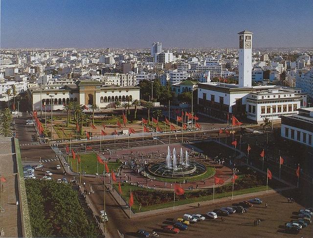 Place Mohammed V I © Anina Abdesalam/Flickr