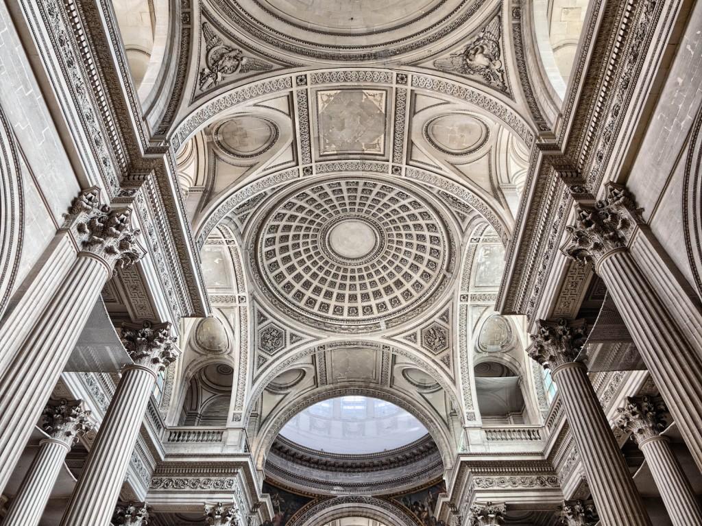 Ceiling of the Panthéon   © Joe deSousa/Flickr