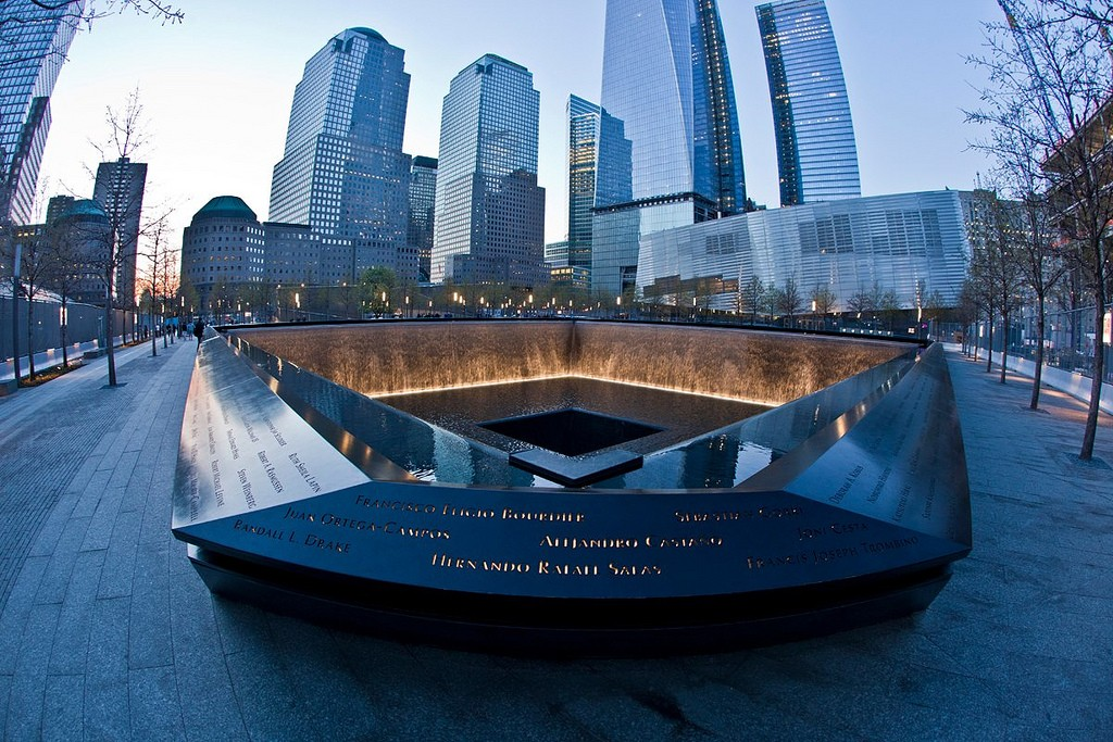 Inside the September 11th Memorial in New York City ©Anthony Quintano