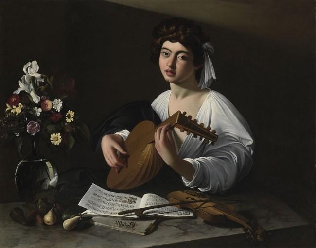 Caravaggio, Apollo the Lute Player, c. 1596 | © Caravaggio, WikiCommons