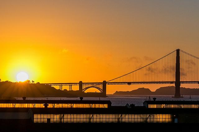 Fort Mason at Sunset © Steve McClanahan/Flickr