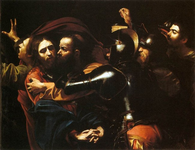 Caravaggio, The Taking of Christ, c. 1602 | © Caravaggio/WikiCommons