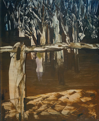 Women and Billabong by Sir Sidney Nolan| The estate of Sir Sidney Nolan. All Rights Reserved 2010 / Bridgeman Art Library | © Courtesy of Press Tate