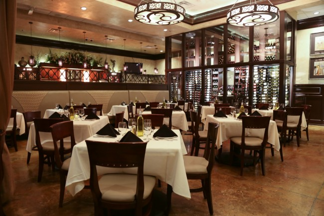 Agio's dining room | Courtesy Agio Italian Bistro