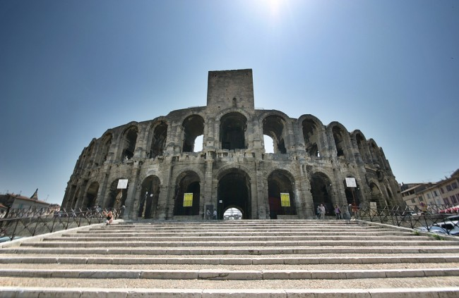Arles amphitheater © Stefan Bauer/WikiCommons