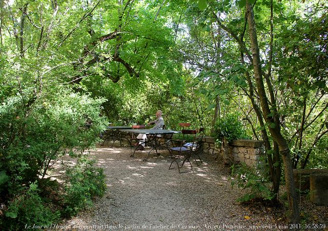 Garden at Atelier de Cézanne | ©Renaud Camus/Flickr