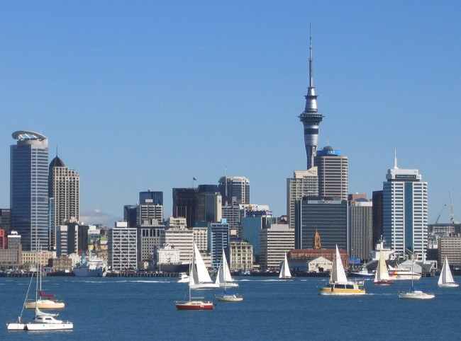 Auckland City | © Sids1/Flickr