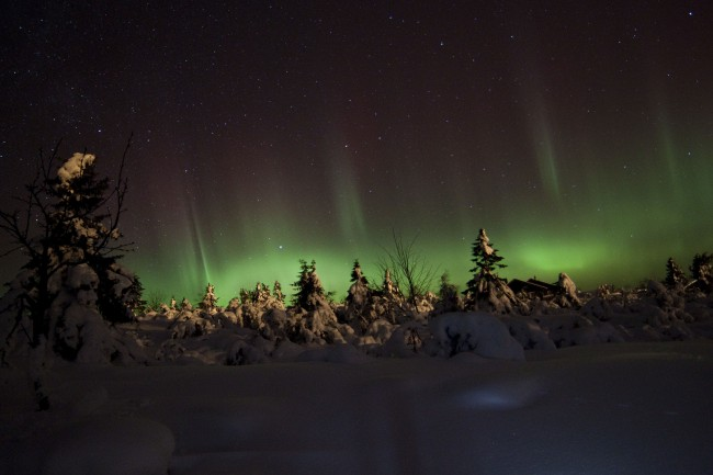 Northern Lights in Trysil | © TimothyBoocock /WikiCommons