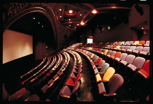 BAM Rose Cinemas Interior With Screen   Image Courtesy of BAM