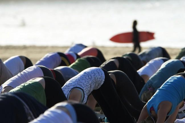 Do some yoga | © Taro Taylor/Flickr