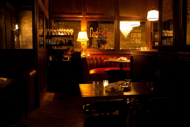 Bavette's interior | © Kari Skaflen / Courtesy of Bavette's Bar & Boeuf