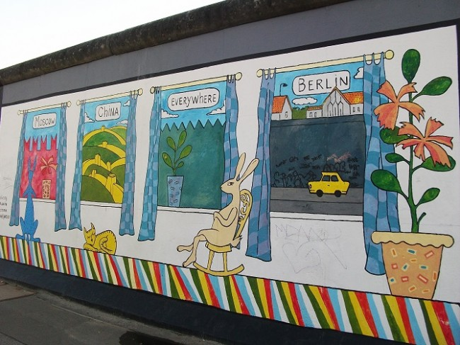 East Side Gallery | © Oursinbenjamin/WikiCommons