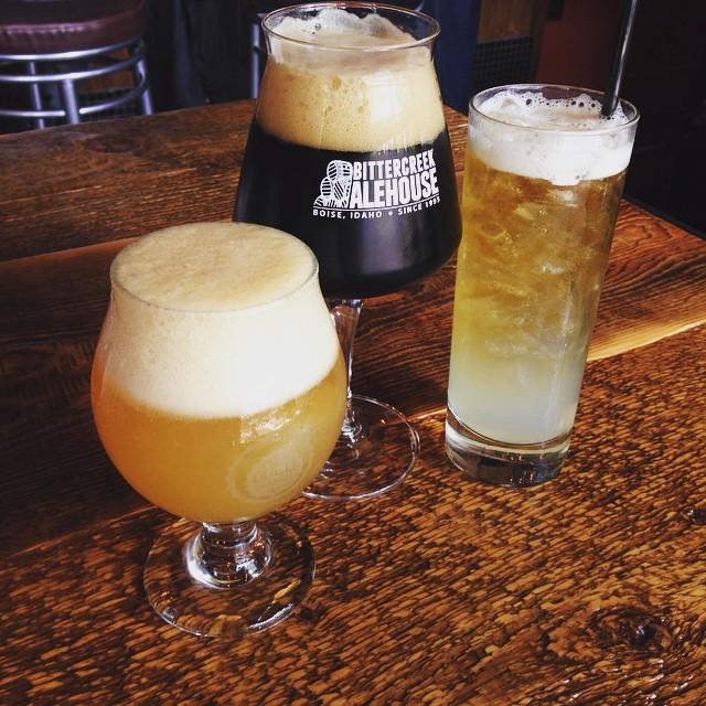 Beer cocktails | Courtesy of Bittercreek Ale House