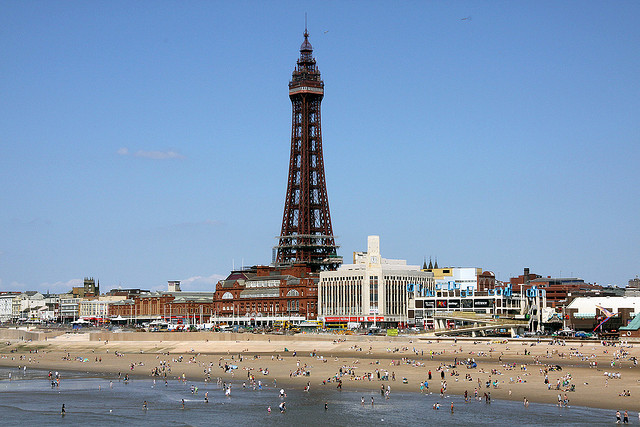 Blackpool Tower viewed from the Central Pier | © Ingy The Wingy/Flickr