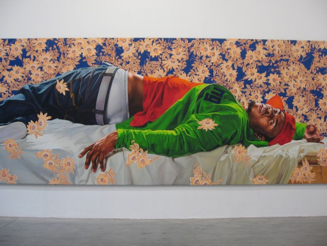 IMG_8659 Kehinde Wiley | © libby rosof/Flickr