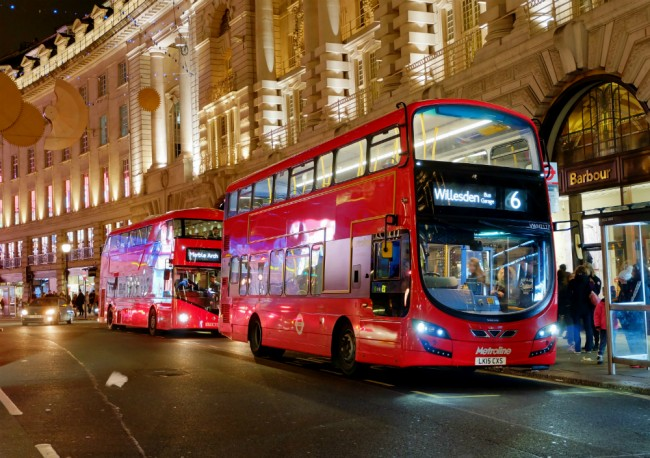 London buses ©Nick Rice/Flickr