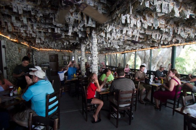 The Cabbage Key dining room | Courtesy Cabbage Key