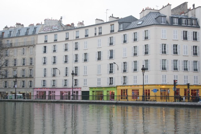A Hint of Color, Canal St. Martin | © ParisSharing/Flickr