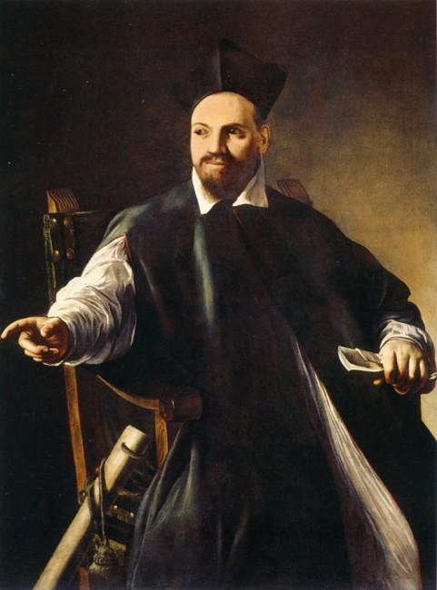 Caravaggio, Portrait of Maffeo Barberini, c. 1598 | © Caravaggio/WikiCommons