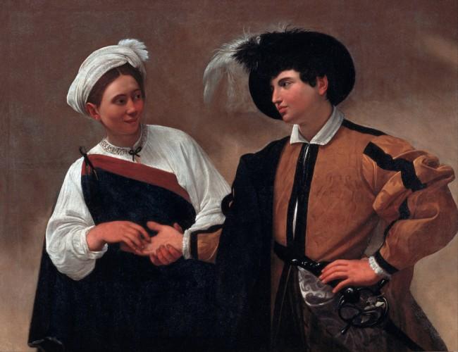 Caravaggio, The Fortune Teller, c. 1594 | © Caravaggio/WikiCommons