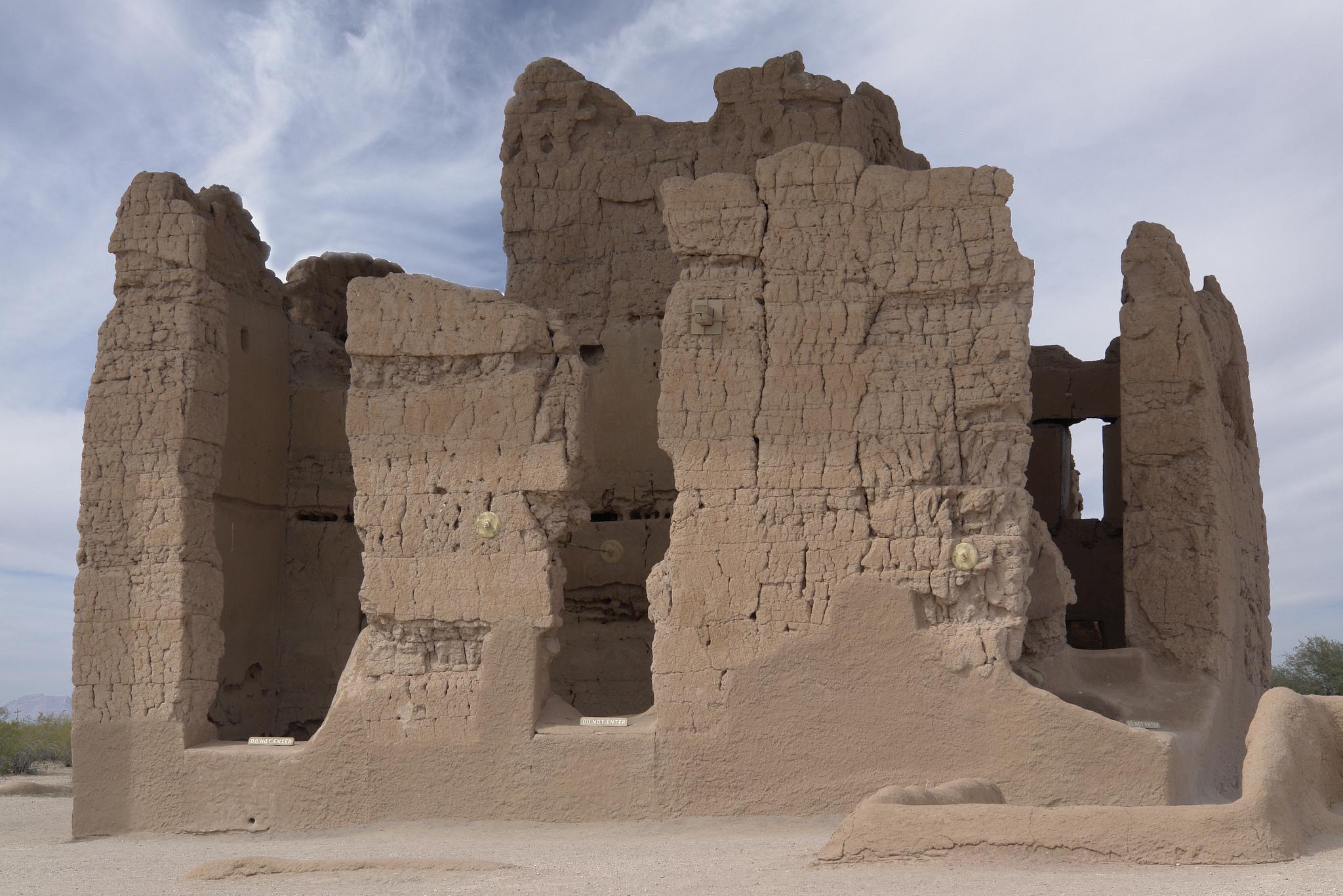Casa Grande Ruins   Ⓒ Gary Brownell/Flickr