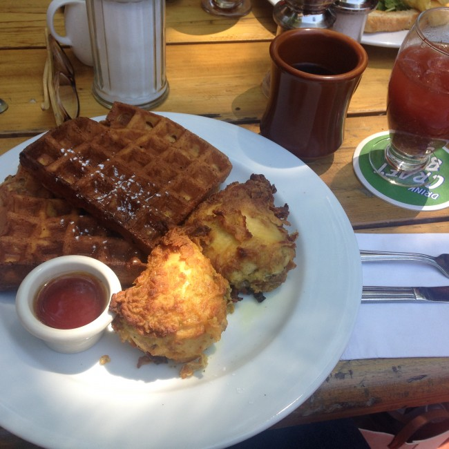 Chicken & Waffles | Nicole Egan
