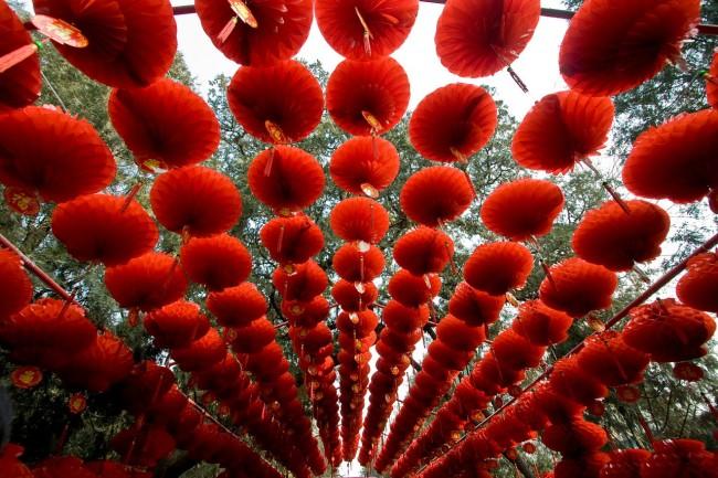 Chinese New Year Lanterns in Beijing © wikicommons
