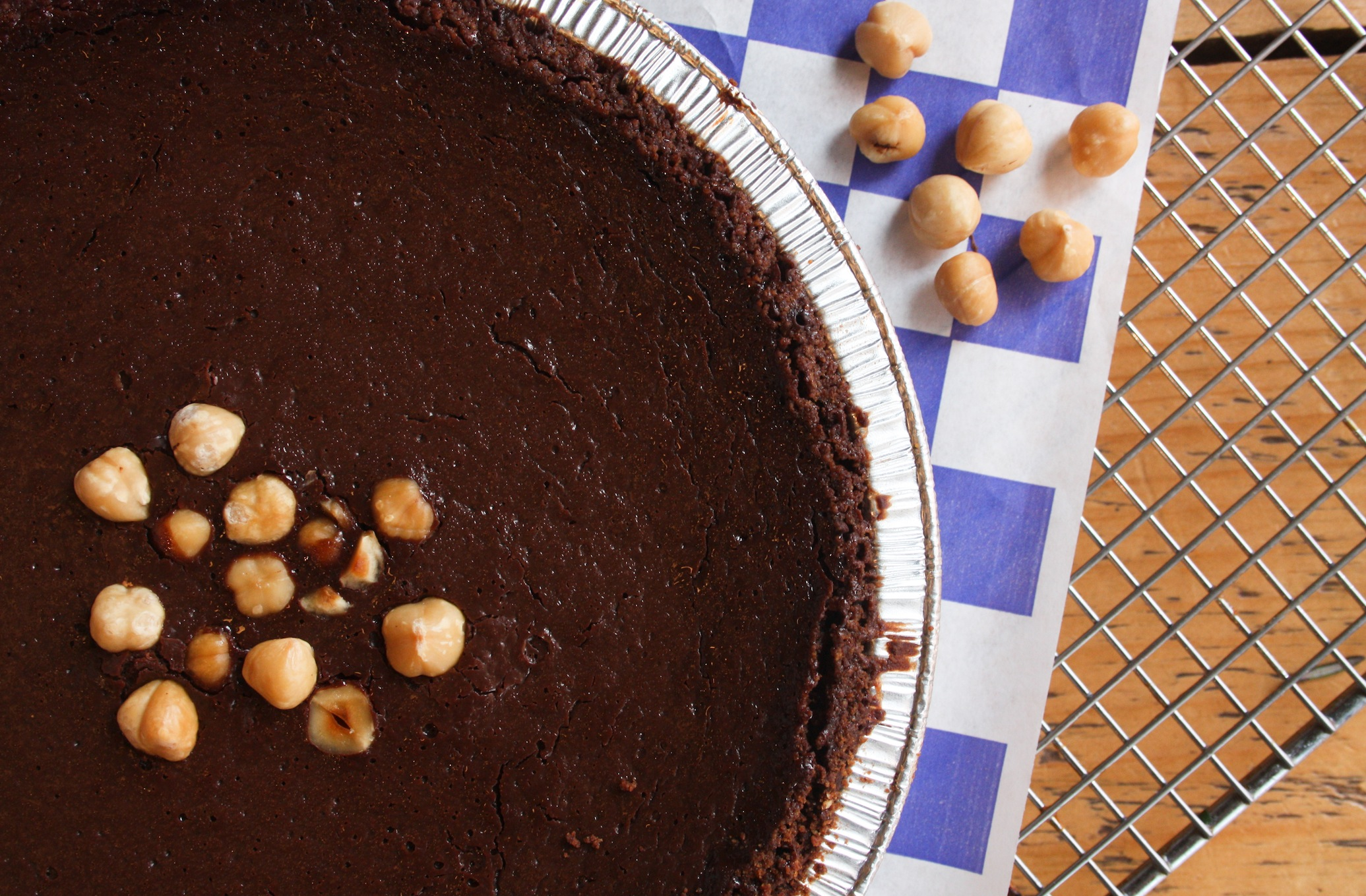 Chocolate Hazelnut Truffle with Chocolate Sea Salt Crust Pie | Image Courtesy of Pie Corps