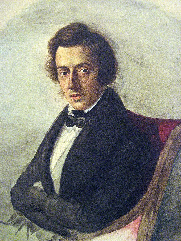 Frédéric Chopin   © Maria Wodzińska/WikiCommons