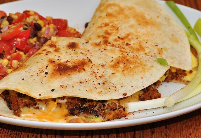 Breakfast Quesadilla | ©jeffreyw/Flickr