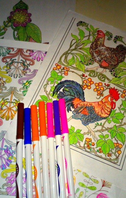 Coloring Pages |© Marie Cradle