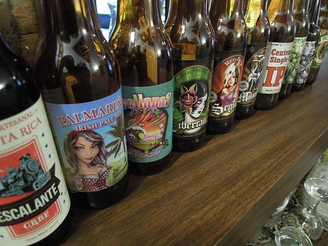 Costa Rican Craft Beers | © Rquesada/WikiCommons