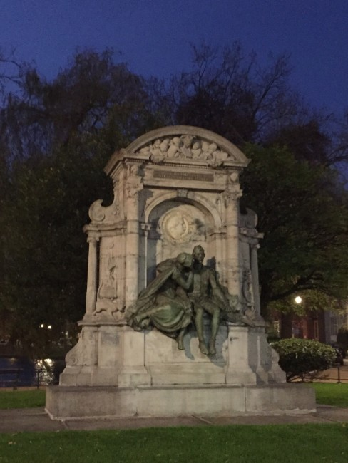 Charles De Coster monument in Ixelles, Brussels | Courtesy of Margareta Hanes