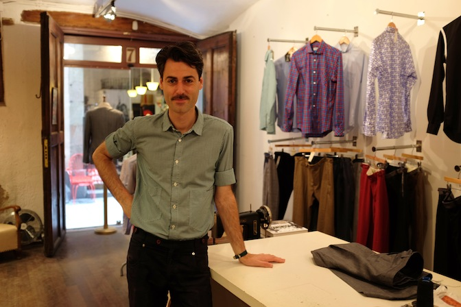Meet The Barcelona-Based Men's Tailor, Oscar H. Grand