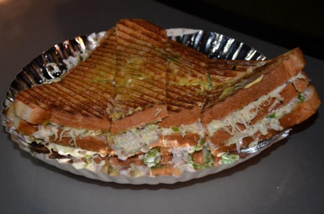 Mayonnaise Cheese Grilled Sandwich © Sucheta Thakur
