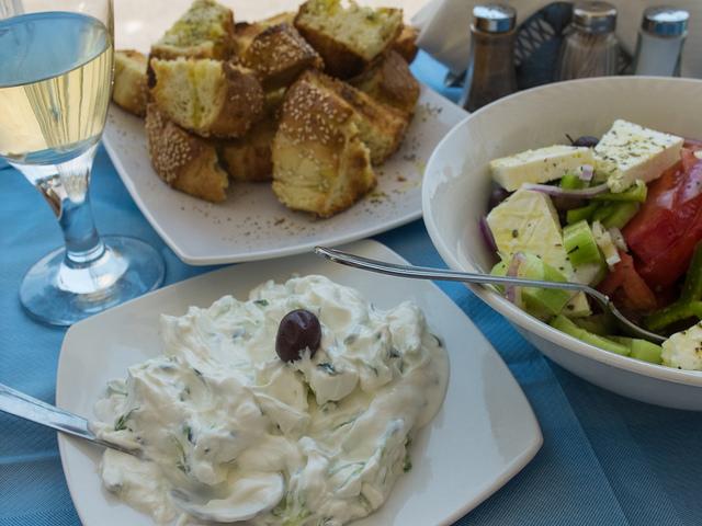 Delicious Greek food   © Anna & Michal/Flickr